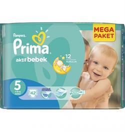Prima Aktif Bebek 5 Beden 42 Adet