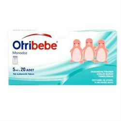 Otribebe Monodoz Steril 5 ml x 20 Flakon Deniz Suyu