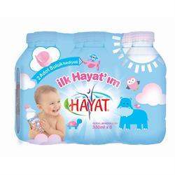 Hayat Bebek Suyu 0.33 Lt 6 Adet