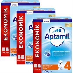 Aptamil 4 Devam Sütü 3'lü 1200 gr