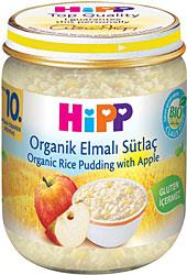 Hipp Organik Elmalı Sütlaç 200gr Bebek Maması