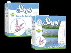 Sleepy Lavanta Kokulu Islak Mendil 3 x 60 Adet