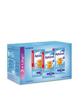 Aptamil 3 Devam Sütü 3'lü 1200 gr