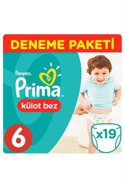 Prima Pants 6 Beden Extra Large 19 Adet Külot Bebek Bezi