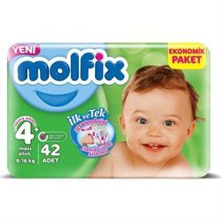 Molfix 4+ Maxi Plus Jumbo Paket 42li