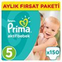 Prima Aktif Bebek 5 Beden Junior 150 Adet